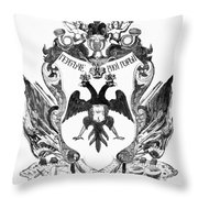 Russia: Coat Of Arms Throw Pillow
