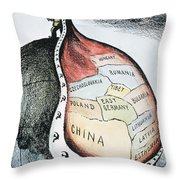 Russia: Imperialism, 1951 Throw Pillow