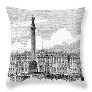 Russia: St. Petersburg, 1881 Throw Pillow