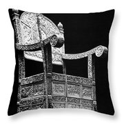 Russia: Throne Of Ivan Iv Throw Pillow