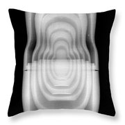 Russian Nested Dolls Throw Pillow