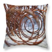 Rusted Spring 2 Throw Pillow
