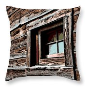Rustic Portal Throw Pillow