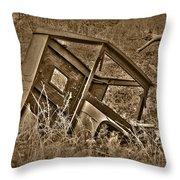 Rusting Away Throw Pillow