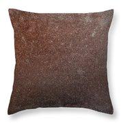 Rusty Iron Throw Pillow