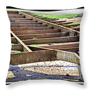 Rusty Relic Throw Pillow
