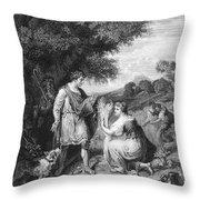 Ruth & Boaz Throw Pillow
