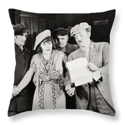 Ruth Of The Rockies, 1920 Throw Pillow