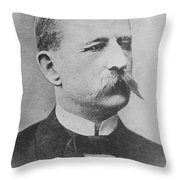 S. A. Andr�e, Swedish Engineer Throw Pillow by Science Source