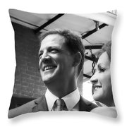 S And D 002 Throw Pillow by Kathleen K Parker