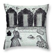 Saadi (c1184-1291) Throw Pillow