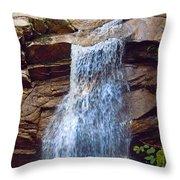 Sabbath Day Waterfall Throw Pillow