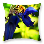 Sage And Bee Number Two Throw Pillow