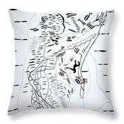 Saharawi Dance - Western Sahara Throw Pillow