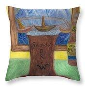 Sail A Head  Throw Pillow