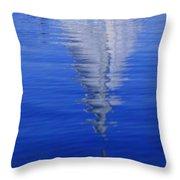 Sailboat On Water Throw Pillow