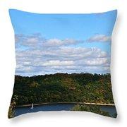 Sailing Summer Away Throw Pillow