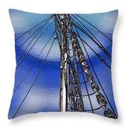 Sailors Beck And Call Throw Pillow