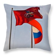 Sails Of Hope Throw Pillow
