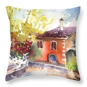 Saint Bertrand De Comminges 13 Throw Pillow