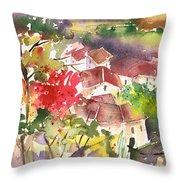 Saint Bertrand De Comminges 15 Throw Pillow