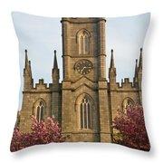 Saint Fin Barres Cathedral Cork 13 Throw Pillow
