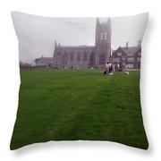 Saint Georges Church. Throw Pillow