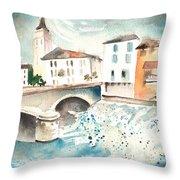 Saint Girons 02 Throw Pillow