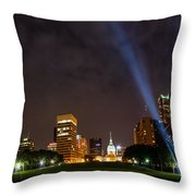 Saint Louis Lights Throw Pillow