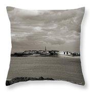 Saint-malo From Dinard. Throw Pillow