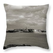 Saint-malo From Dinard. Throw Pillow