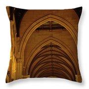 Saint Marys Church Interior 2 Throw Pillow
