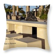 Saints And Sinners Throw Pillow