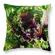 Salad Maker Throw Pillow
