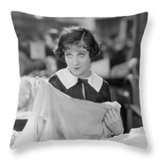 Sally Oneil: Becky, 1927 Throw Pillow