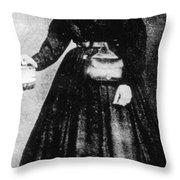 Sally Tompkins (1833-1916) Throw Pillow