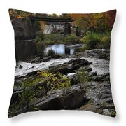 Salmon Falls Sfp Throw Pillow
