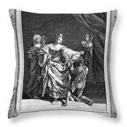 Salome & John The Baptist Throw Pillow
