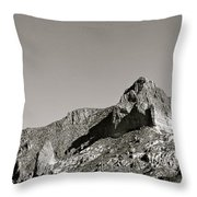 Salt River Black And White Throw Pillow
