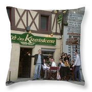 Salut Throw Pillow