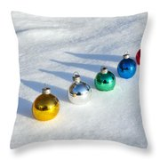 Salute To The Holidays Throw Pillow