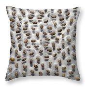 Salvia Polystachya Seeds Throw Pillow