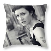 Sam2 Throw Pillow