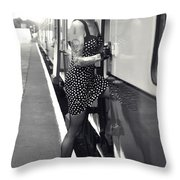 Sam9 Throw Pillow