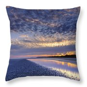 Same Night Five Fifty Two Pm Throw Pillow