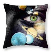 Same Universe Throw Pillow