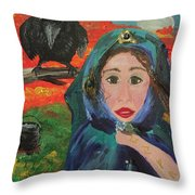 Samhain Throw Pillow