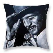 Sammy Davis Jr Throw Pillow