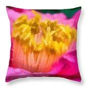 Sample-camellia Throw Pillow