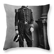 Samuel Francis Du Pont Throw Pillow